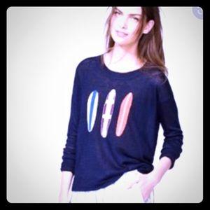 J Crew Surfboard Linen sweater